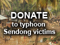 Donate to typhoon Sendong victims